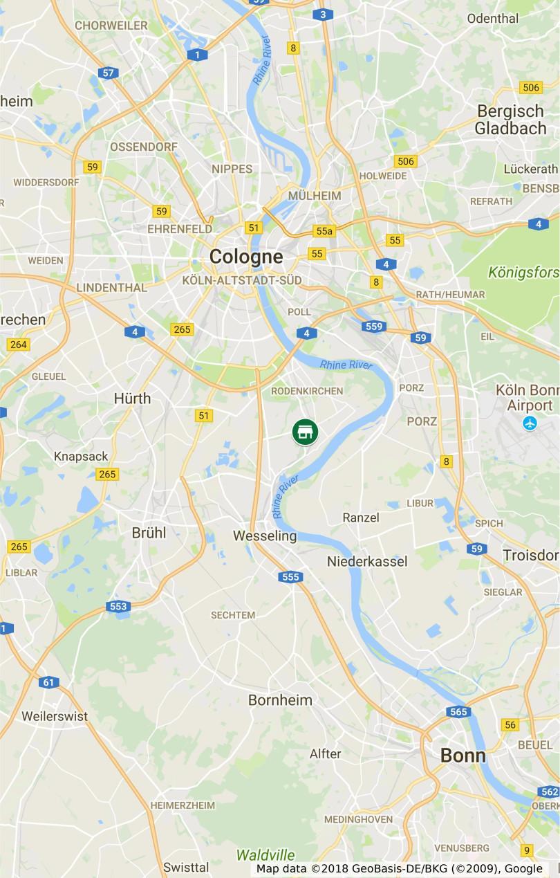 Standort Stonegate GmbH - Köln Rodenkirchen